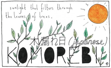 Inspired by this Japanese word