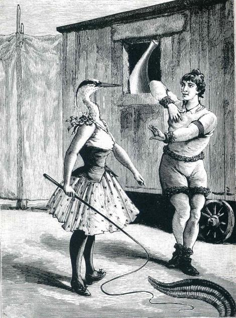 "Illustration to ""A Week of Kindness"" by Max Ernst"