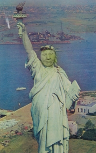 Ridiculous Portrait (Statue of Liberty) by May Wilson