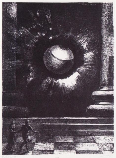 Vision  by Odilon Redon