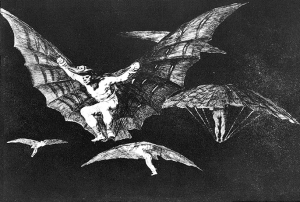 A way of flying by Francisco Goya