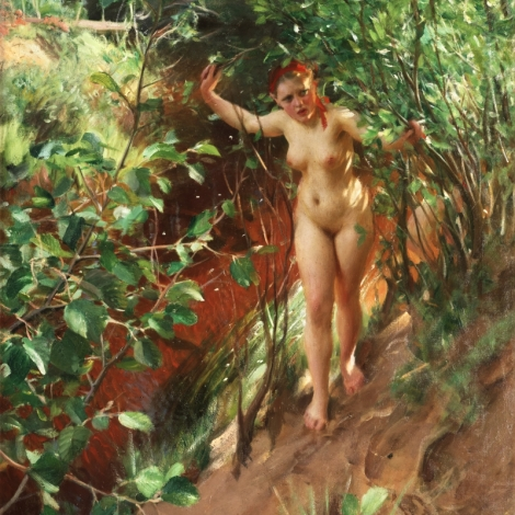 Red Sand by Anders Zorn