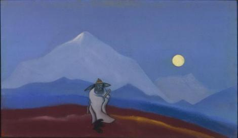 The Philosopher. Silence. © Nicholas Roerich