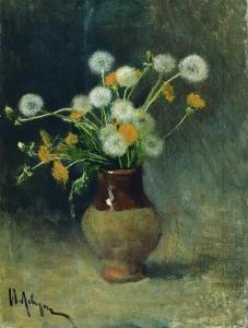 Dandelions by Isaac Levitan