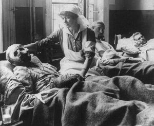 Wounded Belgian Soldiers