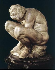 Crouching boy - Michelanggelo