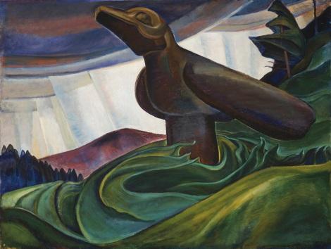 "Emily Carr, ""Big Raven"" (1931)"
