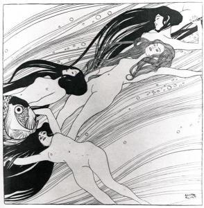 Fishblood by Gustav Klimt