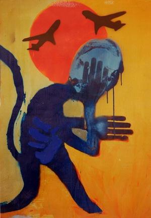 In Baghdad by unknown street artist