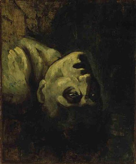 Head Of A Drowned Man by Theodore Gericault