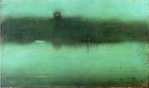 Nocturne Grey And Silver by James McNeill Whistler