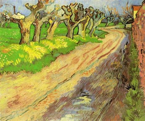 Pollard Willows by Vincent van Gogh