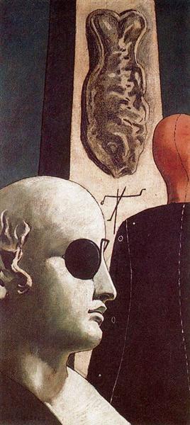 The Nostalgia Of The Poet by Giorgio de Chirico
