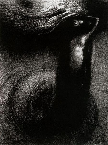Death: My Irony Surpasses All Others! by Odilon Redon