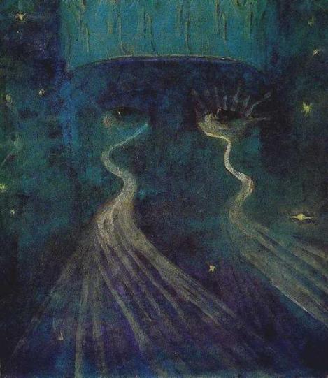 Eternity by Mikalojus Konstantinas Čiurlionis