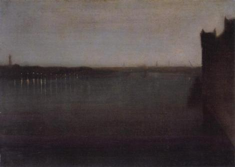 Nocturne, Grey And Gold by James Abbott McNeill Whistler