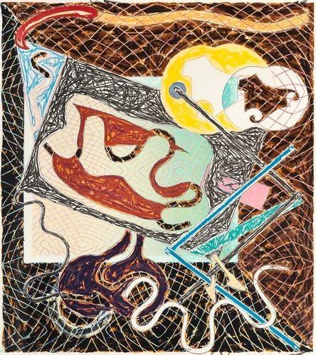 Shards-ii, by Frank Stella