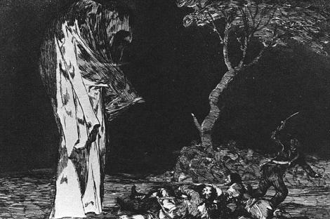 The madness of fear by Francisco Goya