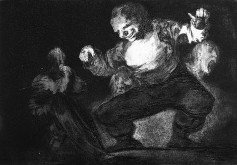 Twerp by Francisco Goya