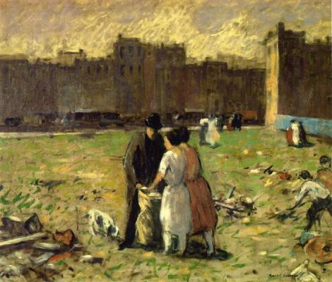 Vacant lot by Robert Spencer