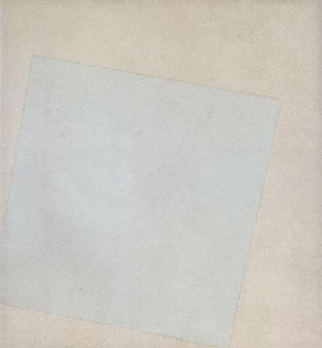 Suprematist Composition: White On White by Kazimir Malevich