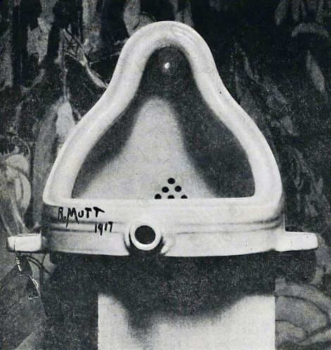 Fountaine by Marcel Duchamp