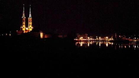 Wroclaw by Night by Kim Russel