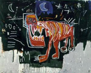 Dog by Jean-Michel Basquiat