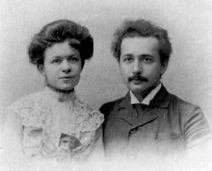 Albert and Mileva wedding