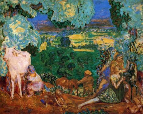 Pastoral Symphony by Pierre Bonnard