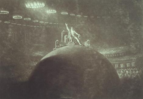 Satan Presiding At The Infernal Council by John Martin