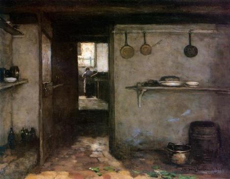 Cellar Interior by Jan Hendrik Weissenbruch