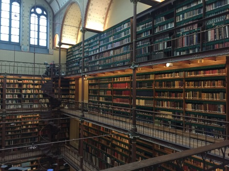 The library at Rijksmuseum (Amsterdam)