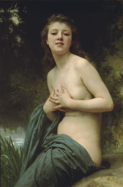 Spring Breeze by William-Adolphe Bouguereau