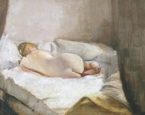 Reclining Nude by Victor Pasmore