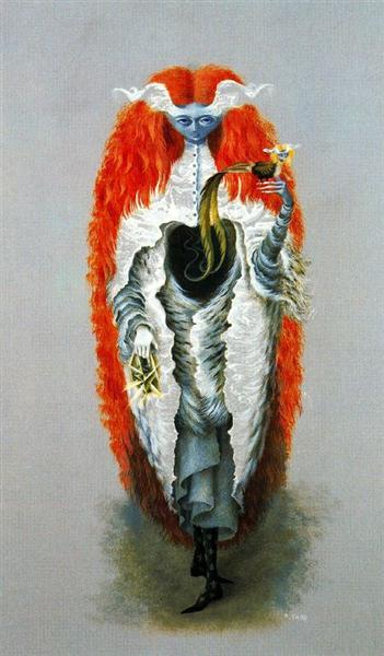 Witch going to the Sabbath by Remedios Varo